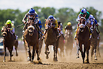 June 07, 2014: Sweet Reason with Irad Ortiz Jr defeats Sweet Whisky to win the Acorn Stakes Stakes  on Belmont Stakes day at Belmont Park in Elmont New York. Alex Evers/ESW/CSM