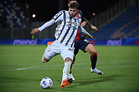 Manolo Portanova of Juventus FC in action during the Serie A football match between FC Crotone and Juventus FC at stadio Ezio Scida in Crotone (Italy), October 17th, 2020. Photo Federico Tardito / Insidefoto