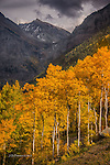 San Juan Mountains above Telluride, Colorado