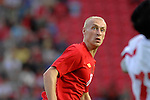 Wales' David Cotterill during the International Friendly between Wales and Luxembourg at Parc y Scarlets in LLanelli..