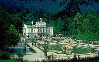 Linderhof Palace. Linderhof Palace. Bavaria Germany.