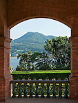 View Looking South-West Over The Tamsui River From The Front Of The Consul's Residence In Tamsui, Taiwan.