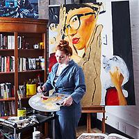 Artist Fischer Cherry, Tribeca