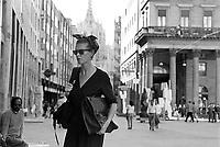- Milan, Vittorio Emanuele II avenue (september 1988)....- Milano, corso Vittorio Emanuele II  (settembre 1988)