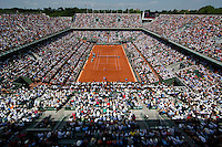 France, Paris, 04.06.2014. Tennis, French Open, Roland Garros, Womans final: Centercourt <br /> Photo:Tennisimages/Henk Koster