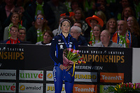 SPEEDSKATING: HEERENVEEN: 11-01-2020, IJsstadion Thialf, European Championship distances, Podium 3000m Ladies, Francesca Lollobrigida (ITA), ©foto Martin de Jong