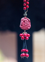 Singapore, Thian Hock Keng Taoist Temple, Pendant to the Goddess of the Sea.
