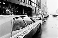 ARCHIVE -<br /> Greve a l'UQAM, le 22 fevrier 1973<br /> <br /> Photo : Agence Quebec Presse  - Alain Renaud