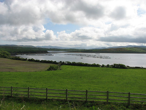 Salmon farm in north Co Donegal