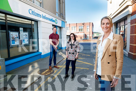 Staff at the Citizens Information office in Tralee, Joe Moloney, Kirstie Nowak, Áine Brosnan and Frances Clifford, Kerry Citizens Information Development Manager.