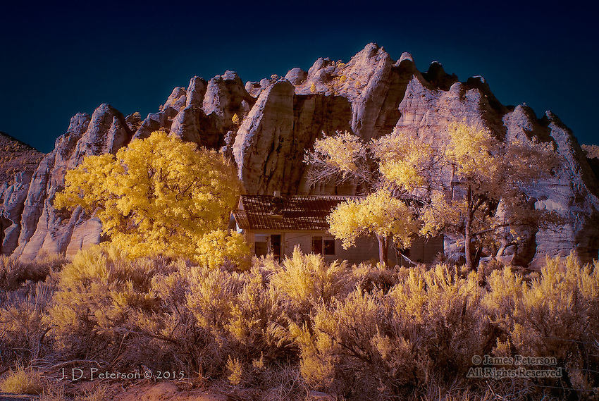 The Hideaway, Kolob Terrace, Utah (Infrared)