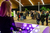 Alphen aan den Rijn, Netherlands, December 16, 2018, Tennispark Nieuwe Sloot, Ned. Loterij NK Tennis, Party with  DJ<br /> Photo: Tennisimages/Henk Koster