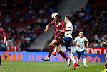 Argentina's Nicolas Alejandro Tagliafico and Venezuela's Juan Pablo Anor 'Juanpi'  during the International Friendly match on 22th March, 2019 in Madrid, Spain. (ALTERPHOTOS/Manu R.B.)