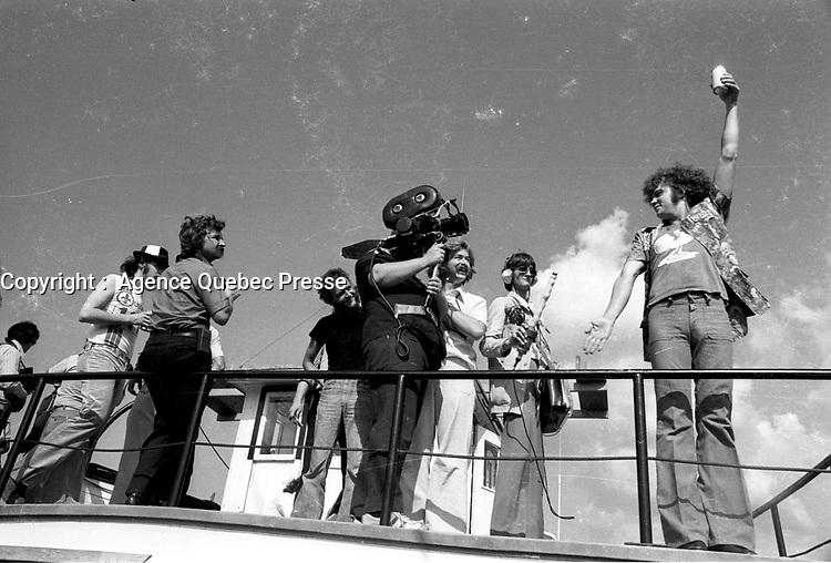 Robert Charlebois dans les annees 70<br /> <br /> date inconnue,<br /> <br /> Photo : Agence Quebec Presse  - Alain Renaud