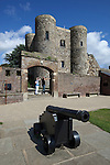 Great Britain, England, East Sussex, Rye: Ypres Tower, built in 1249. Used for centuries as a prison, now a museum. It was part of the old towns defences