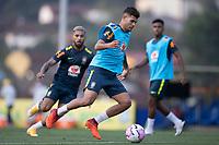 7th October 2020; Granja Comary, Teresopolis, Rio de Janeiro, Brazil; Qatar 2022 qualifiers; Bruno Guimaraes of Brazil during training session
