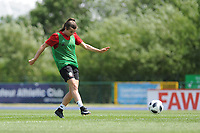 Megan Wynne of Wales Women during the Wales Women training session at the Cardiff International Sports Stadium in Cardiff, Wales, UK. Monday 03 June 2019