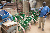 Blacksmith's Shop, Where Soil Rippers are Made, near Kaolack, Senegal. DOZENS MORE OF IMAGES RELATED TO MILLET CULTIVATION ARE AVAILABLE.  WHAT DO YOU NEED?