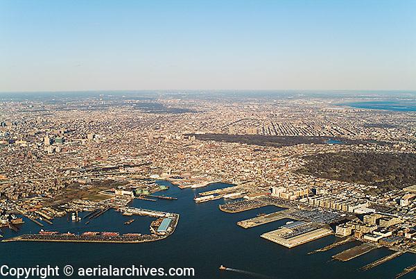 aerial photograph Brookyln, New York City