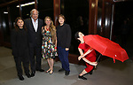 Lenny Lane, Stewart F. Lane, Bonnie Comley and Frankie Lane attends the ChaShaMa 'Open Studios' Opening Night Reception on October 12, 2018 at the Brooklyn Army Terminal in Brooklyn, New York.