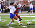 Images from the first round of the state soccer playoffs as the St. Martin's boys defeat Erath 5-1 and the girl's team down W. Feliciana 2-0.