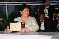 JACLYN JOSE, WINNER OF THE BEST ACTRESS AWARD FOR THE FILM 'MA'ROSA' - PHOTOCALL OF THE WINNERS AT THE 69TH FESTIVAL OF CANNES 2016