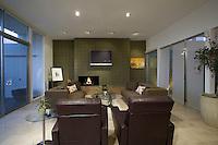 Elegant living room in Palm Springs Mid-century home