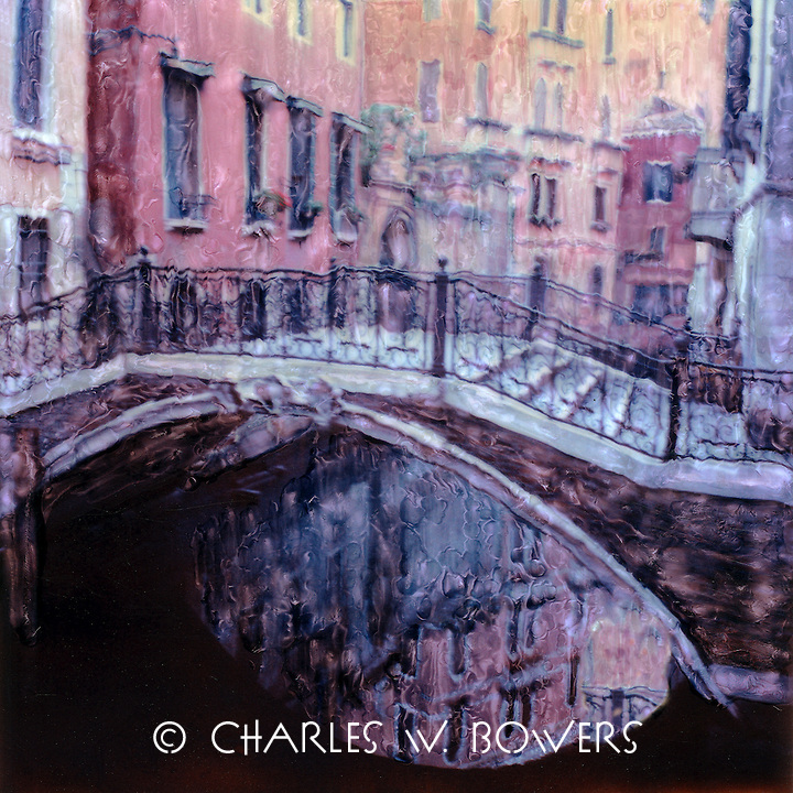 A walk though Venice takes you across many small bridges. The many delights to be found on the other side of each crossing.<br /> <br /> -Limited Edition of 50 Prints