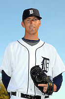 Feb 21, 2009; Lakeland, FL, USA; The Detroit Tigers pitcher Zach Simons (41) during photoday at Tigertown. Mandatory Credit: Tomasso De Rosa/ Four Seam Images