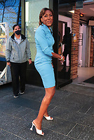 NEW YORK, NY- JULY 28: Robin Roberts seen outside ABC studios in New York City on July 28, 2021. Credit: RW/MediaPunch