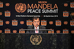 Opening Plenary Meeting of the Nelson Mandela Peace Summit<br /> <br /> His Excellency Jusuf KALLAVice President of the Republic of Indonesia
