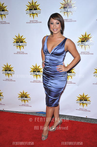 Cheryl Burke - of Dancing with the Stars - at the 3rd Annual Hot in Hollywood event at the Avalon in Hollywood in honor of HIV/AIDS Awareness..August 16, 2008  Los Angeles, CA.Picture: Paul Smith / Featureflash
