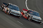 NASCAR Camping World Truck Series<br /> winstaronlinegaming.com 400<br /> Texas Motor Speedway, Ft. Worth, TX USA<br /> Friday 9 June 2017<br /> Noah Gragson, Switch Toyota Tundra and Ben Rhodes, Safelite Auto Glass Toyota Tundra<br /> World Copyright: Nigel Kinrade<br /> LAT Images<br /> ref: Digital Image 17TEX2nk03577