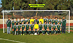 Moorpark High School Soccer Team photo.