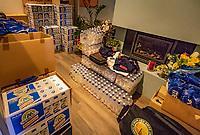 Hilversum, Netherlands, August 6, 2018, National Junior Championships, NJK, supply<br /> Photo: Tennisimages/Henk Koster