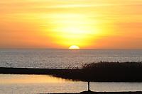 Ondergaande zon Lemmer 080211, ©MdJ