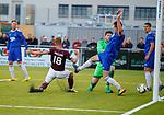 18.07.18 Cove Rangers v Hearts:  Steven MacLean scores goal no 2 for Hearts