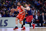 Valencia Basket's Fernando San Emeterio during Semi Finals match of 2017 King's Cup at Fernando Buesa Arena in Vitoria, Spain. February 18, 2017. (ALTERPHOTOS/BorjaB.Hojas)