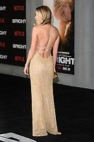 "Dawn Olivieri<br /> arriving for the ""Bright"" European premiere at the BFI South Bank, London<br /> <br /> <br /> ©Ash Knotek  D3364  15/12/2017"