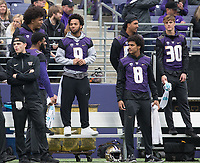 The Huskies were without star running back Myles Gaskin, who was held out with a shoulder injury.