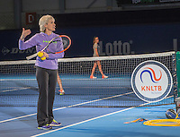 Rotterdam, Netherlands, December 16,  2016, Topsportcentrum,  Coaches Congress, Judy Murray gives a coaching session. <br /> Photo: Tennisimages/Henk Koster