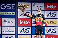 Lotte Kopecky (BEL/Lotto-Soudal) finishes 3rd.<br /> <br /> AG Driedaagse Brugge-De Panne 2020 (1.WWT)<br /> 1 day race from Brugge to De Panne (156km) <br /> <br /> ©kramon