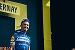 Julian Alaphilippe (FRA) Deceuninck-Quick Step wins Stage 3 atop Cote de Mutigny and takes the Yellow Jersey of the 2019 Tour de France running 215km from Binche, Belgium to Epernay, France. 8th July 2019.<br /> Picture: ASO/Thomas Maheux | Cyclefile<br /> All photos usage must carry mandatory copyright credit (© Cyclefile | ASO/Thomas Maheux)