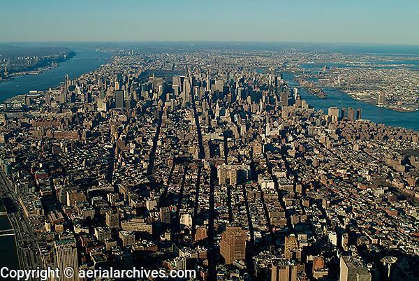 aerial photograph Manhattan, New York City