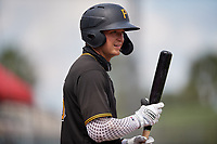 Pittsburgh Pirates Matt Gorski (25) bats during a Florida Instructional League game against the Detroit Tigers on October 16, 2020 at Joker Marchant Stadium in Lakeland, Florida.  (Mike Janes/Four Seam Images)