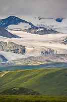 Gakona Glacier, Alaska Range mountains, Interior, Alaska