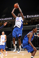 Jakarr Sampson at the NBPA Top100 camp at the John Paul Jones Arena Charlottesville, VA. Visit www.nbpatop100.blogspot.com for more photos. (Photo © Andrew Shurtleff)