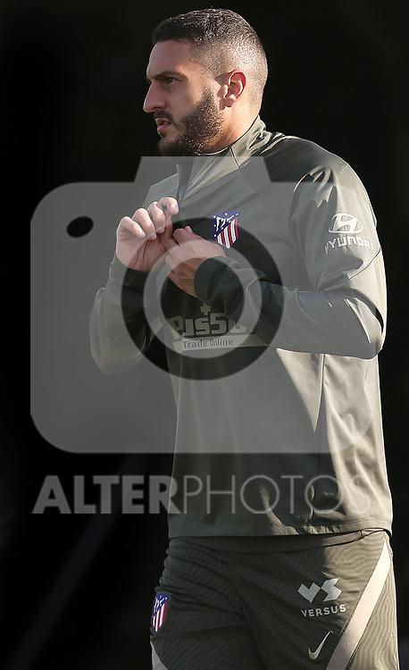 Atletico de Madrid's Koke Resurreccion during training session. October 8,2020.(ALTERPHOTOS/Atletico de Madrid/Pool)