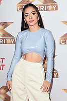 """LONDON, UK. October 09, 2019: Laura Buitrago (V5) at the photocall for """"The X Factor: Celebrity"""", London.<br /> Picture: Steve Vas/Featureflash"""