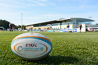 Ealing Trailfinders ground prior to the Greene King IPA Championship match between Ealing Trailfinders and Cornish Pirates at Castle Bar , West Ealing , England  on 29 September 2018. Photo by  Paul Paxford / PRiME Media Images.